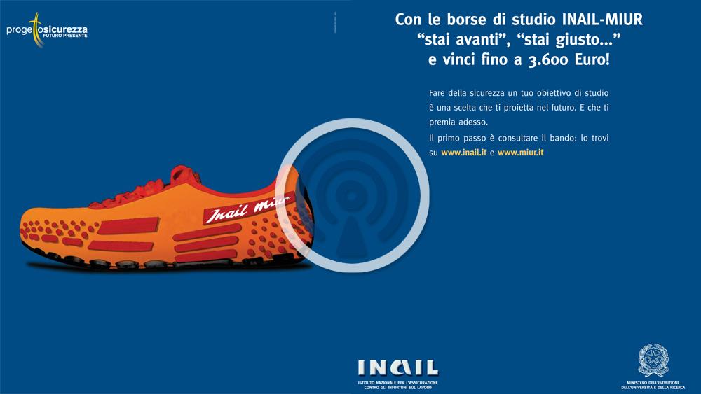 maggiore sconto di vendita raccolto all'avanguardia dei tempi Spot Radiofonico Campagna Borse di studio 2004 - INAIL
