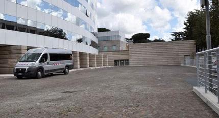 Auditorium Inail, Piazzale Pastore n. 6 - Roma, immagine del parcheggio