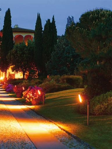 Villa Tornabuoni Lemmi, il parco della villa