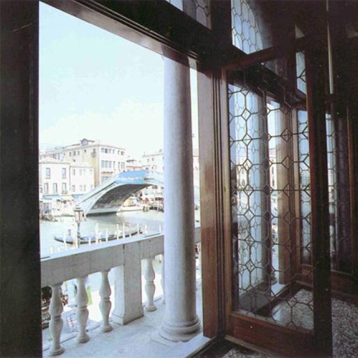 Palazzo Foscari Contarini, Venezia. Immagine verso l'esterno.