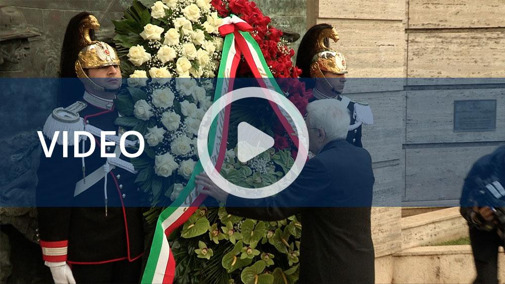 Primo maggio, all'Inail l'omaggio del presidente Mattarella alle vittime del lavoro