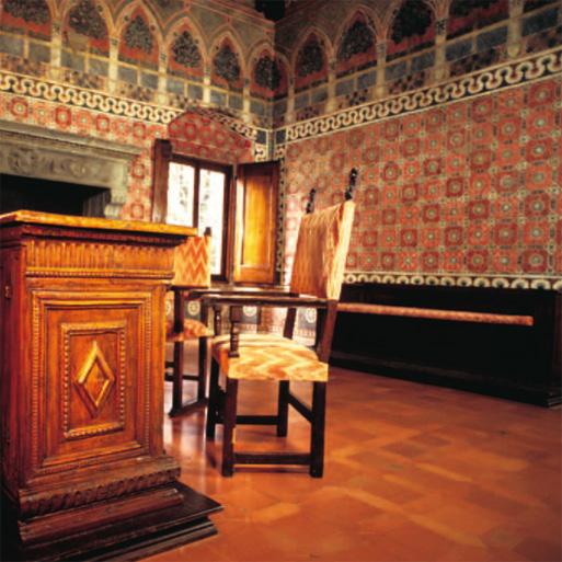 Villa Tornabuoni Lemmi, immagine della stanza affrescata