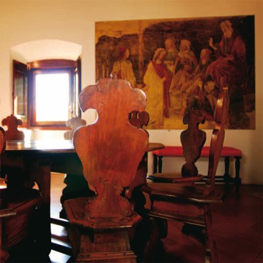 Villa Tornabuoni Lemmi, dettaglio della stanza Botticelli