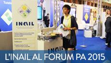 Inail al Forum PA 2015
