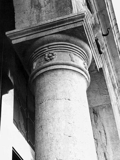 Palazzo Foscari Contarini, Venezia. Immagine di un capitello.