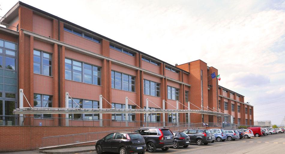 La sede Inail di Vigorso di Budrio, ingresso delle nuove officine