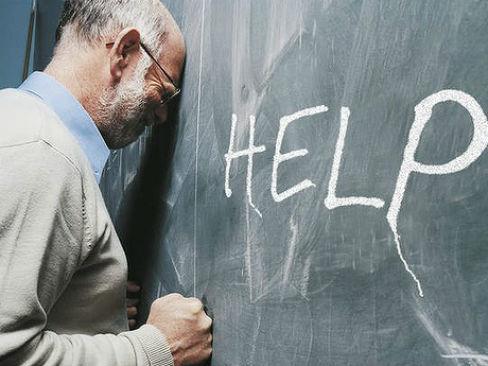 Risultati immagini per burnout insegnanti
