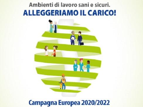 Immagine Campagna Europea 2020-2022 - Ambienti di lavoro sani e sicuri