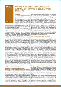 Immagine Misure di sicurezza per gli agenti infettivi del gruppo 3 nelle attività sanitarie