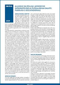 Immagine Allergie da pollini: approccio integrato per la tutela della salute pubblica e occupazionale
