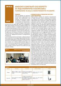 Immagine Ambienti confinati e/o sospetti di inquinamento e assimilabili - Formazione in aula e addestramento in campo