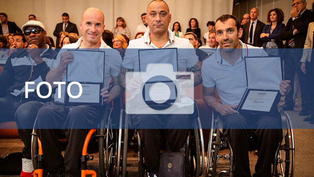 Immagine fotogallery atleti paralimpici Rio 08