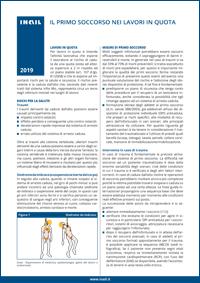Il lavoro in quota o in altezza riguarda tutte le attività lavorative che portano il lavoratore a operare a più di due metri di altezza rispetto al piano stabile (art. 107, d.lgs. 81/2008).