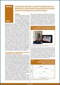 Immagine Riconoscimento e caratterizzazione di materiali contenenti amianto mediante analisi d'immagine iperspettrale