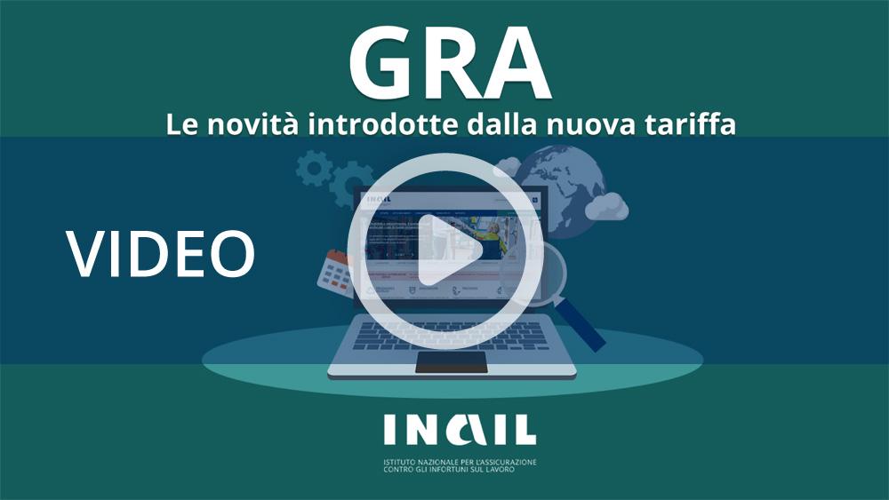 """Tutorial """"GRA – Le novità introdotte dalla nuova tariffa"""""""