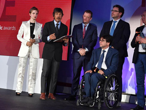 Italian paralympic awards