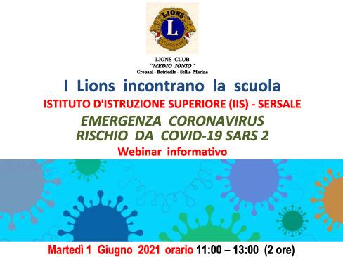 webinar Lions Club Calabria