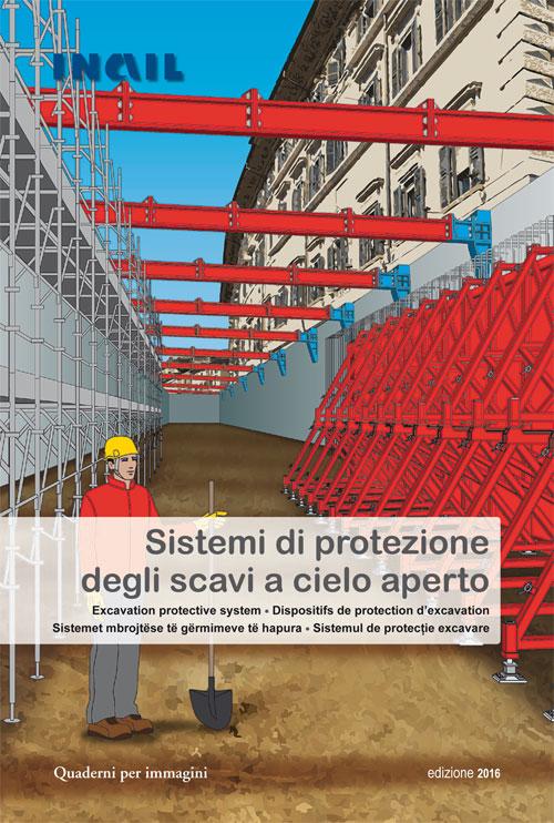 immagine Sistemi di protezione degli scavi a cielo aperto - quaderni per immagini