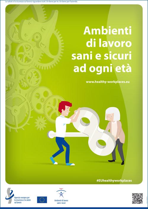 Immagine Campagna europea 2016-2017: Ambienti di lavoro sani e sicuri ad ogni età