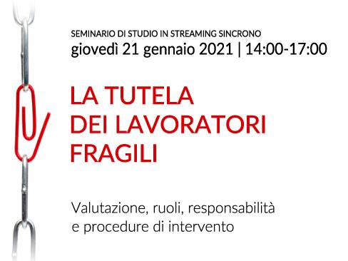 Seminario online sincrono 21 gennaio 2021, Ferrara