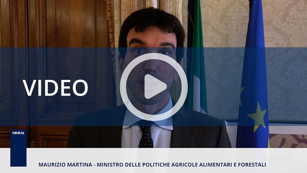 Maurizio Martina, ministro delle politiche agricole alimentari e forestali