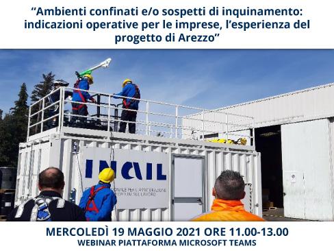 webinar ambienti confinati Arezzo