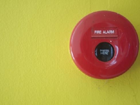 Immagine di pulsante antincendio