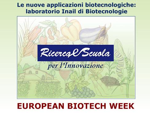 Immagine Nuove applicazioni biotecnologiche: laboratorio Inail di Biotecnologie