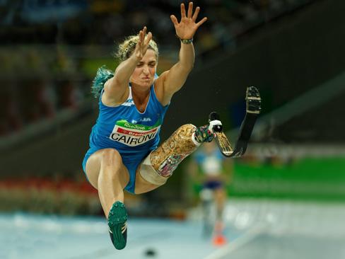 Martina Caironi - Salto in lungo