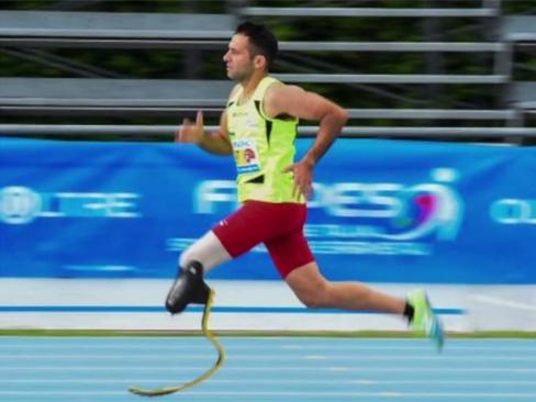 A Tg2 Storie la corsa di Claudio De Vivo verso le Paralimpiadi di Tokyo 2020