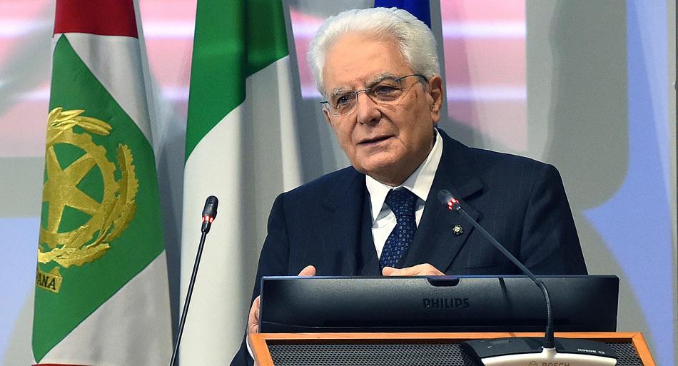 Sergio Mattarella - Presidente della Repubblica Italiana