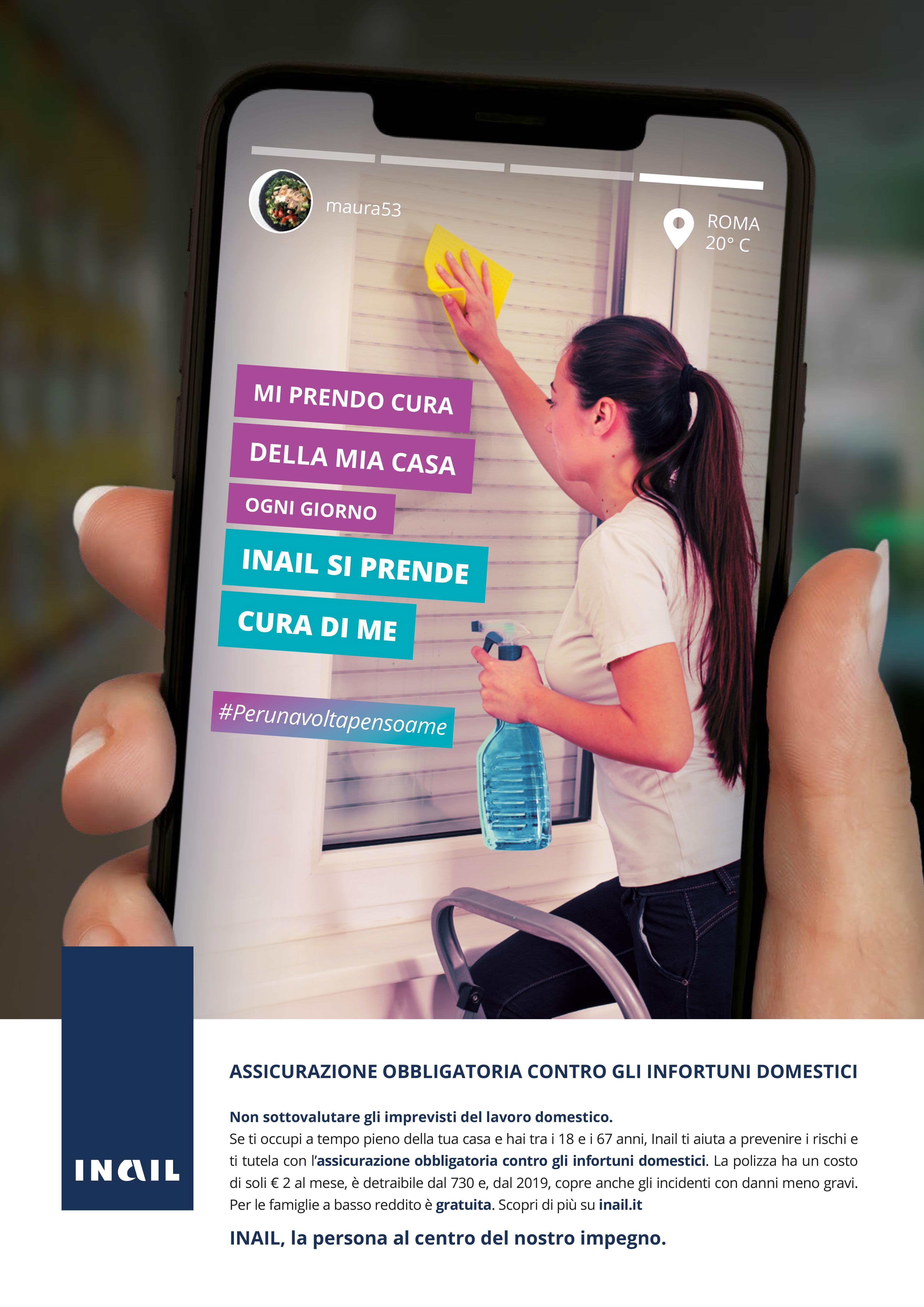 Le attività informative intendono promuovere la cultura della prevenzione dei rischi per la salute e sicurezza legati alle attività lavorative svolte in casa e il valore sociale della tutela assicurativa obbligatoria