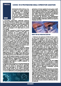 Immagine pubblicazione COVID-19 e protezione degli operatori sanitari