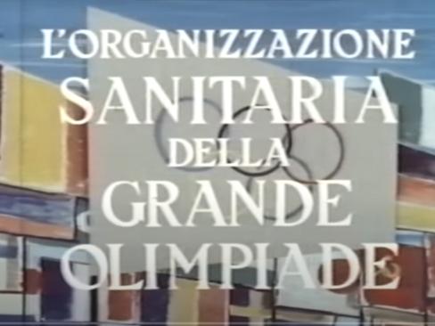 Filmato d'epoca Olimpiadi Roma 1960