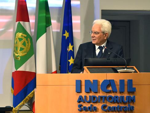 """Mattarella: """"Un Paese con disabilità da lavoro non ha raggiunto un livello di civiltà adeguato"""""""