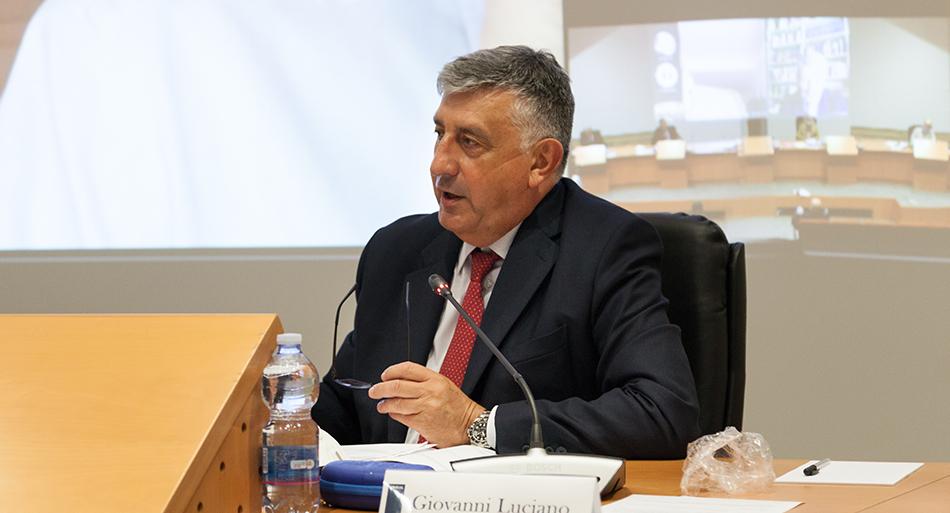 Giovanni Luciano - Presidente Consiglio di indirizzo e vigilanza Inail