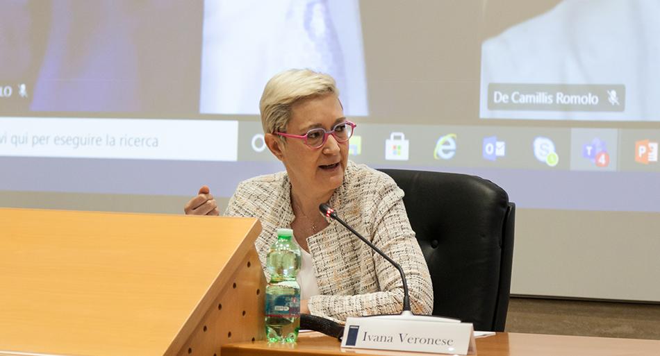 Ivana Veronese - Segretaria Confederale UIL in rappresentanza di CGIL, CISL, UIL