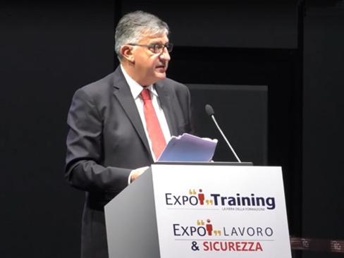 Dall'Industria 4.0 alla Prevenzione 4.0, le nuove sfide dell'Inail al centro del convegno del Civ a ExpoTraining