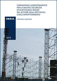 Immagine Formazione e addestramento per la salute e sicurezza Di scaffolder e rigger Nel settore degli spettacoli e dell'intrattenimento
