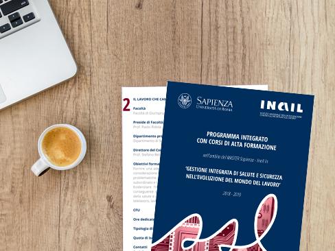 Master Sapienza-Inail, in scadenza i termini per l'iscrizione ai primi due corsi di alta formazione