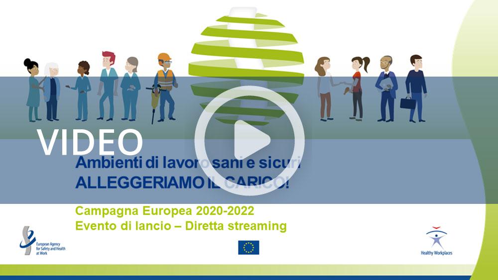Lancio Campagna europea Eu-Osha - 2020