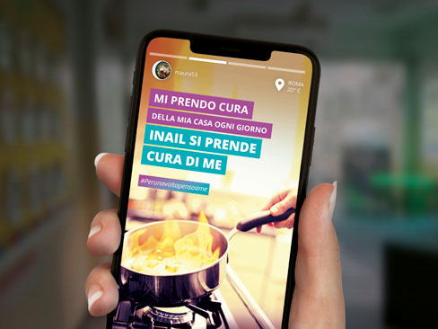 #Perunavoltapensoame, parte il 27 dicembre la campagna di comunicazione dell'Inail contro gli infortuni domestici