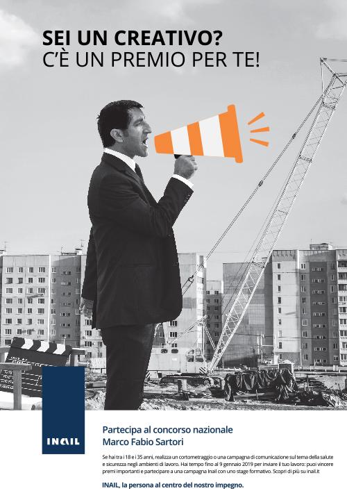 Immagine campagna premio Sartori 2018