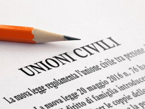 Le prestazioni economiche Inail estese anche alle unioni civili