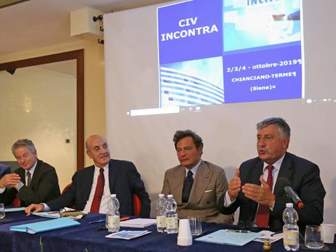 Dal reinserimento all'autonomia, presente e futuro dell'Inail nelle giornate del Civ a Chianciano