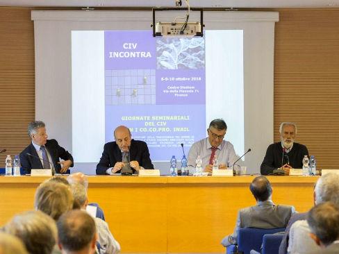 Punti di forza e criticità dell'attività Inail al centro del seminario del Civ con i Co.co.pro.