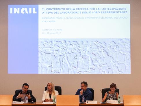 Il convegno sul contributo della ricerca Inail per la partecipazione attiva dei lavoratori
