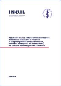 Immagine copertina documento tecnico trasporto pubblico Covid 19