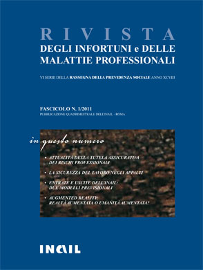 Immagine copertina fascicolo 1-2011