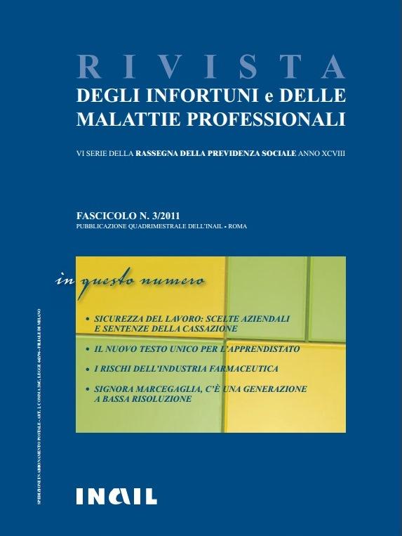 Immagine copertina fascicolo 3-2011